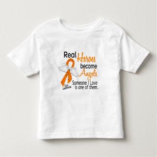 Heroes Become Angels Leukemia Tee Shirts