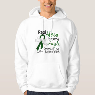 Heroes Become Angels Liver Cancer Pullover