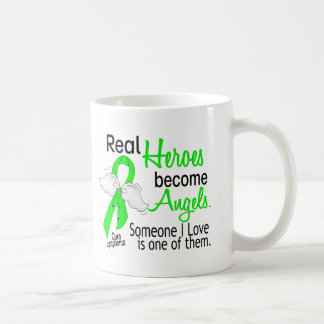 Heroes Become Angels Lymphoma Classic White Coffee Mug