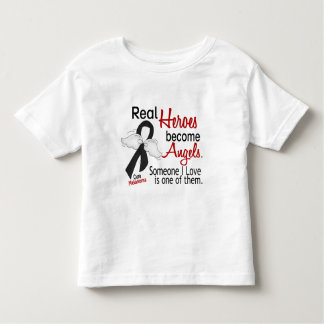 Heroes Become Angels Melanoma Toddler T-shirt