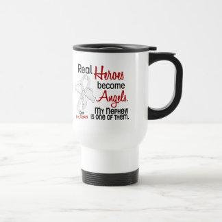 Heroes Become Angels Nephew Lung Cancer Coffee Mug