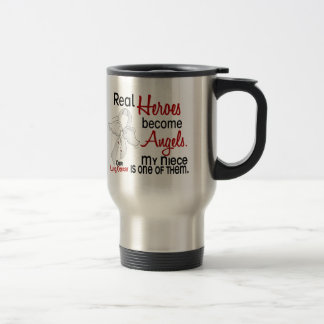 Heroes Become Angels Niece Lung Cancer Mugs