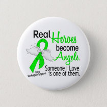Heroes Become Angels Non-Hodgkins Lymphoma Button