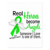 Heroes Become Angels Non-Hodgkins Lymphoma Postcard