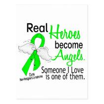 Heroes Become Angels Non-Hodgkins Lymphoma Postcard