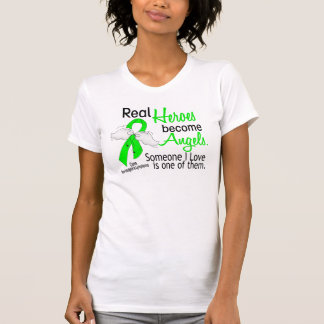 Heroes Become Angels Non-Hodgkins Lymphoma T Shirt