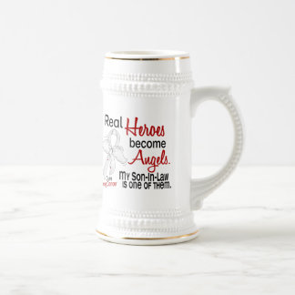 Heroes Become Angels Son-In-Law Lung Cancer Beer Stein