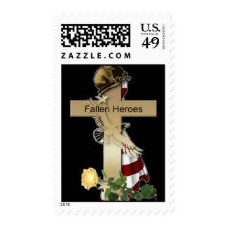 Héroes caidos sellos