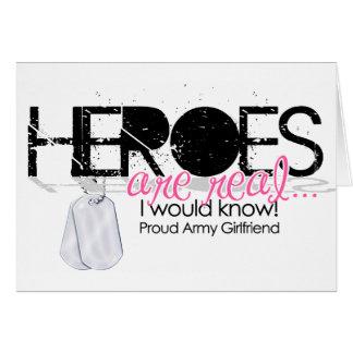 Heroes Greeting Card