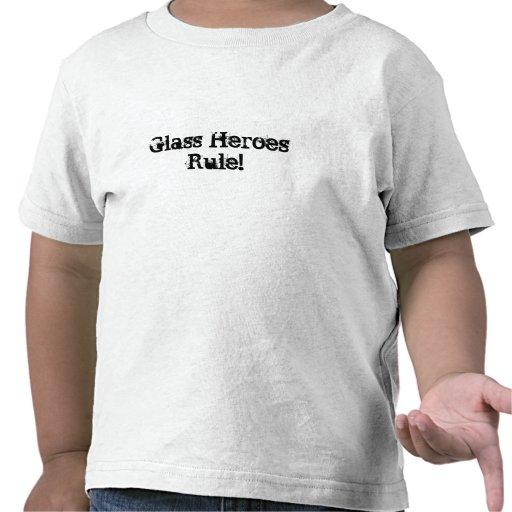 Héroes de cristal camiseta