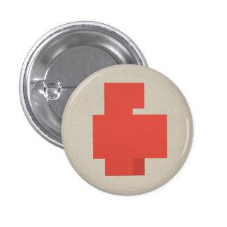 Héroes de FLomm: ¡POSITAVO! Pin Redondo De 1 Pulgada