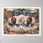 Héroes de la raza coloreada poster