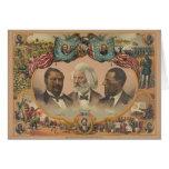 Héroes de la raza coloreada publicada por J. Hoove Tarjeta