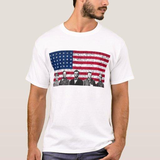 Héroes de la unión y la bandera americana playera