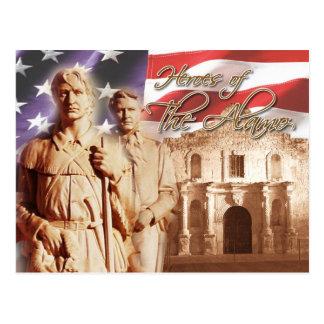 Héroes del Álamo, San Antonio, Tejas Postales