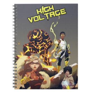 Héroes del alto voltaje Cuaderno de la foto