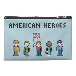 Héroes del americano del pixel