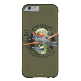 Héroes del cielo - polvoriento funda barely there iPhone 6