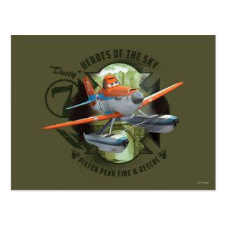 Héroes del cielo - polvoriento postal