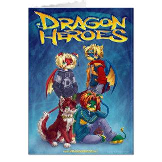 Héroes del dragón tarjetas