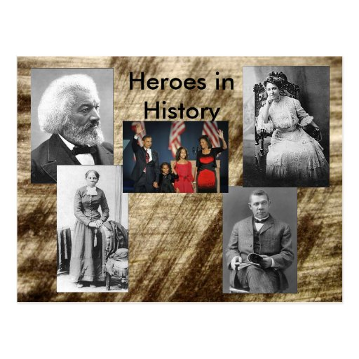 Heroes in History Collection - Succeed Post Card