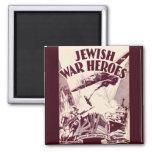 Héroes judíos de la guerra imán de frigorífico