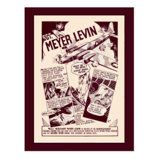 Héroes judíos Levin de la guerra Postal