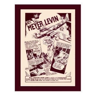 Héroes judíos Levin de la guerra Tarjetas Postales