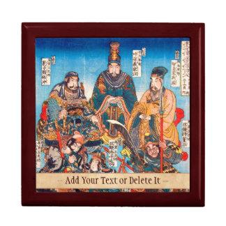 Héroes legendarios de Utagawa Kuniyoshi Suikoden Caja De Regalo