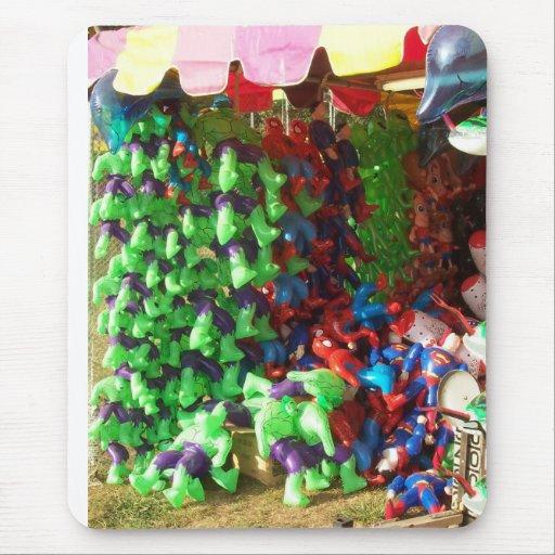 Héroes Mousepad de la feria del condado Alfombrillas De Ratones