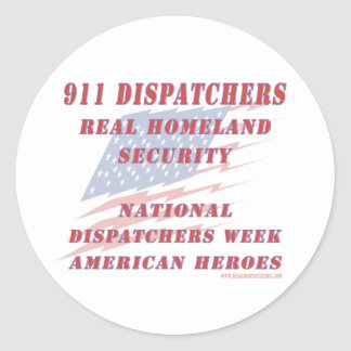 Héroes nacionales del americano de la semana de pegatina redonda