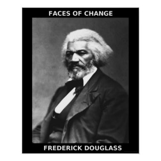 Héroes negros del mes de la historia - Frederick Póster