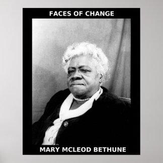 Héroes negros del mes de la historia - Maria McLeo Poster