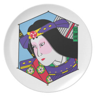 Heroes of the Ages: Tomoe Gozen Melamine Plate