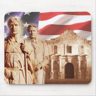 Heroes of The Alamo, San Antonio, Texas Mouse Pad