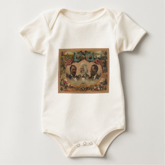 Heroes of the Colored Race 1881 Frederick Douglass Baby Bodysuit