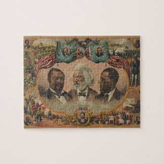 Heroes of the Colored Race 1881 Frederick Douglass Jigsaw Puzzle