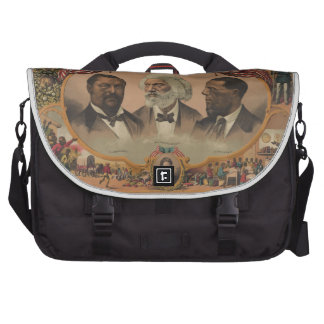 Heroes of the Colored Race 1881 Frederick Douglass Laptop Bag