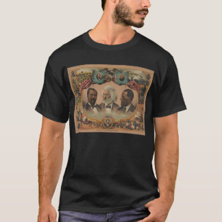 Heroes of the Colored Race 1881 Frederick Douglass T-Shirt