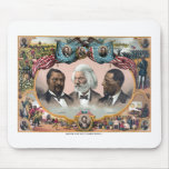 Heroes Of The Colored Race Mouse Pad
