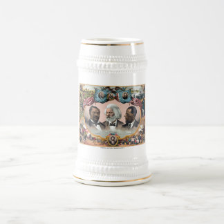 Heroes Of The Colored Race 18 Oz Beer Stein