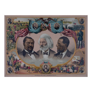 """""""Heroes of the colored Race"""" Print"""