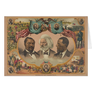 Heroes of the Colored Race Published by J. Hoover Card