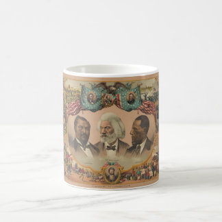 Heroes of the Colored Race Published by J. Hoover Classic White Coffee Mug