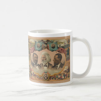 Heroes of the Colored Race Published by J. Hoover Coffee Mug