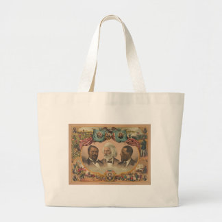 Heroes of the Colored Race Published by J. Hoover Large Tote Bag
