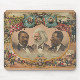 Heroes of the Colored Race Published by J. Hoover Mouse Pad