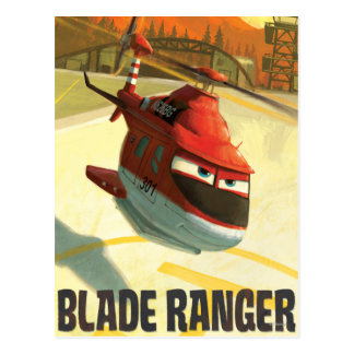Heroes Of The Sky - Blade Ranger Postcards
