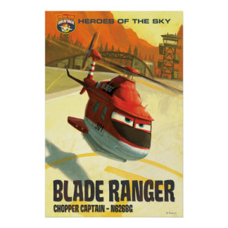 Heroes Of The Sky - Blade Ranger Poster