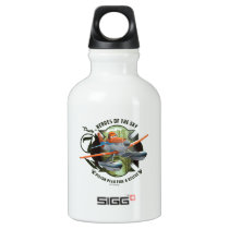 Heroes Of The Sky - Dusty Aluminum Water Bottle